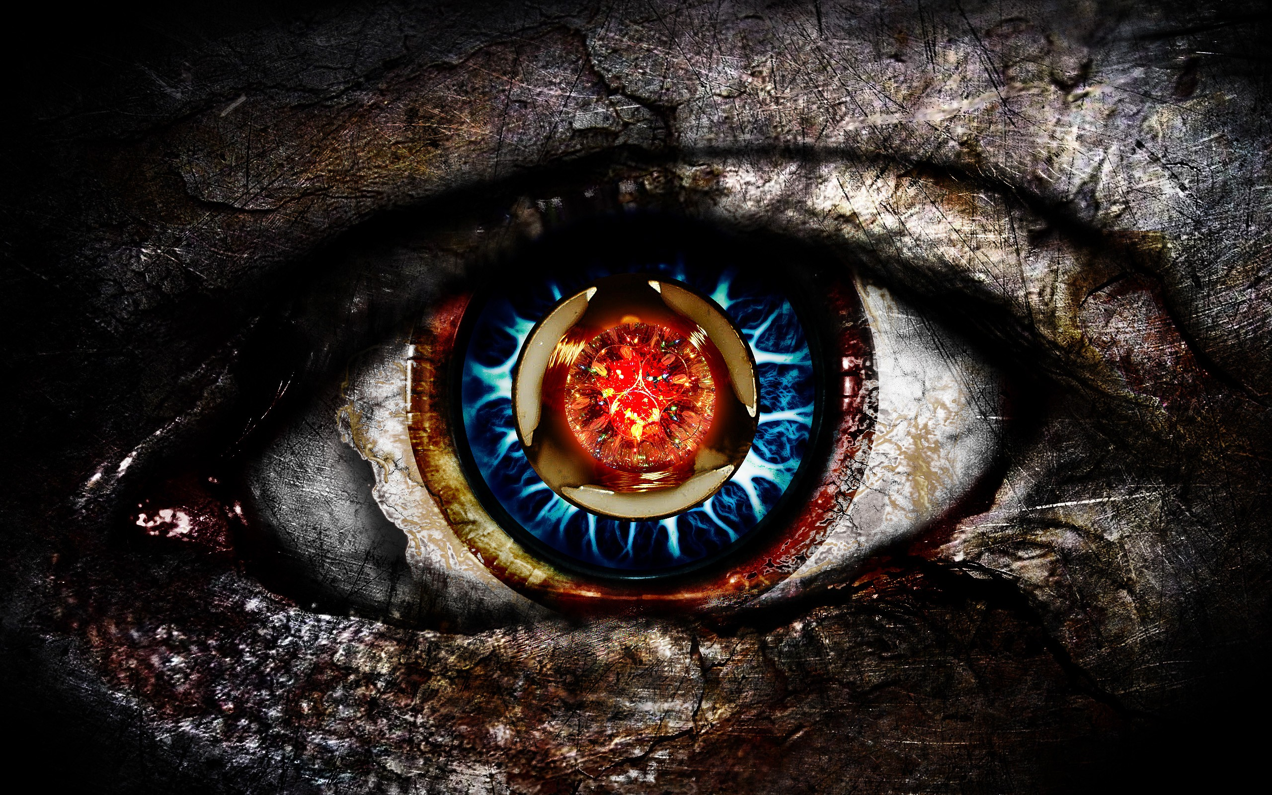 eyes digital art 22465