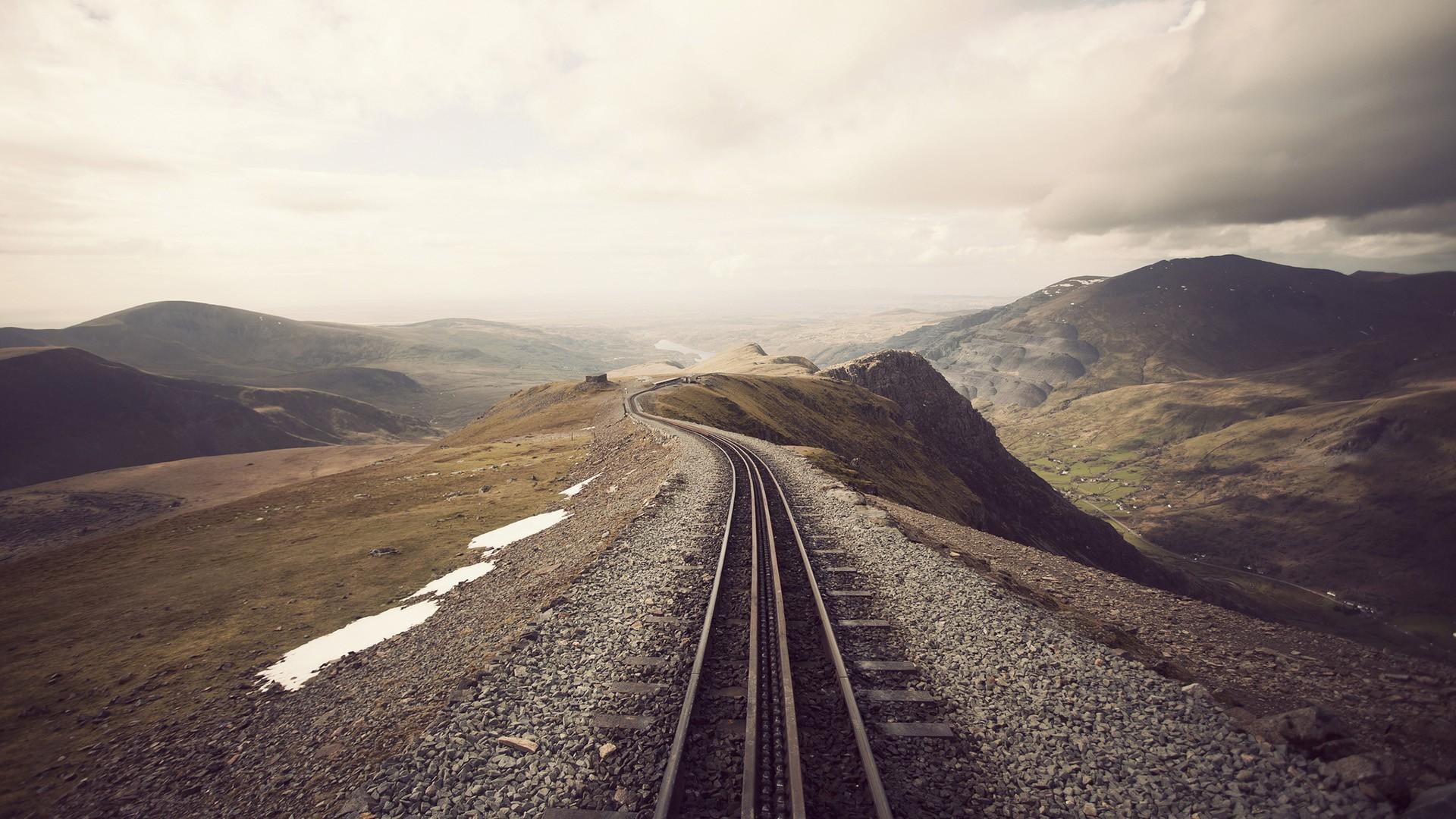 fantastic railroad wallpaper 38701