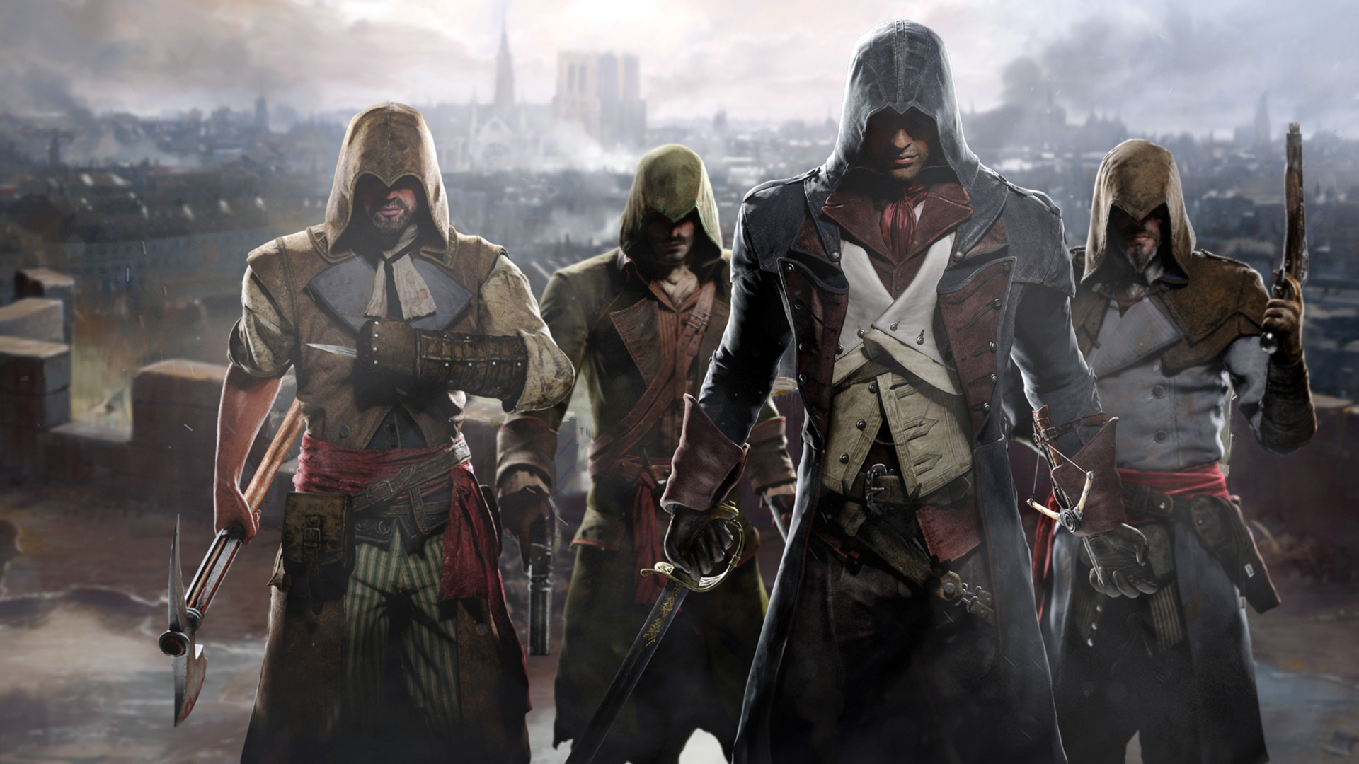 Free assassins creed unity wallpaper 40776 1920x1080 px free assassins creed unity wallpaper 40776 voltagebd Gallery