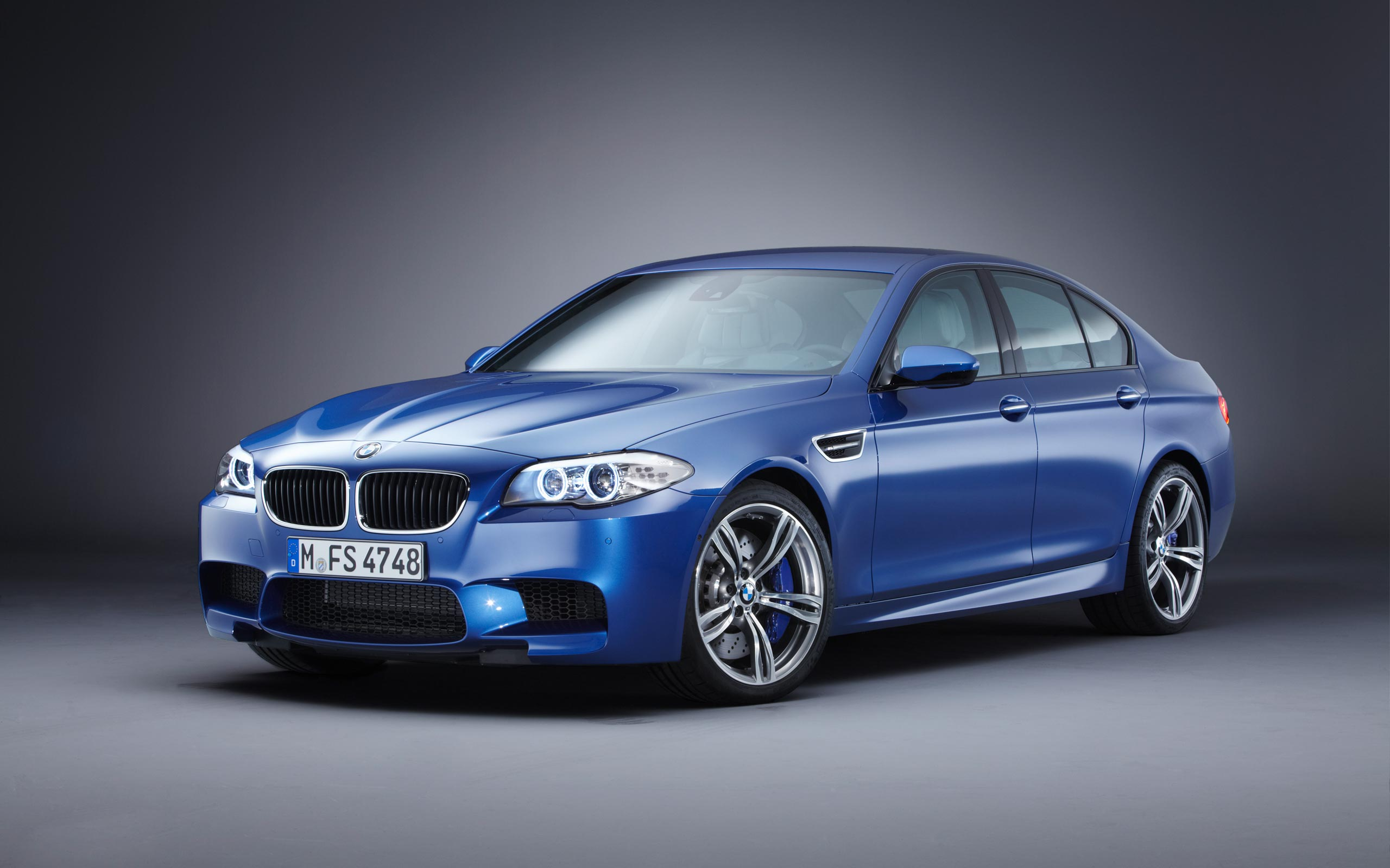 free blue bmw m5 wallpaper 43984