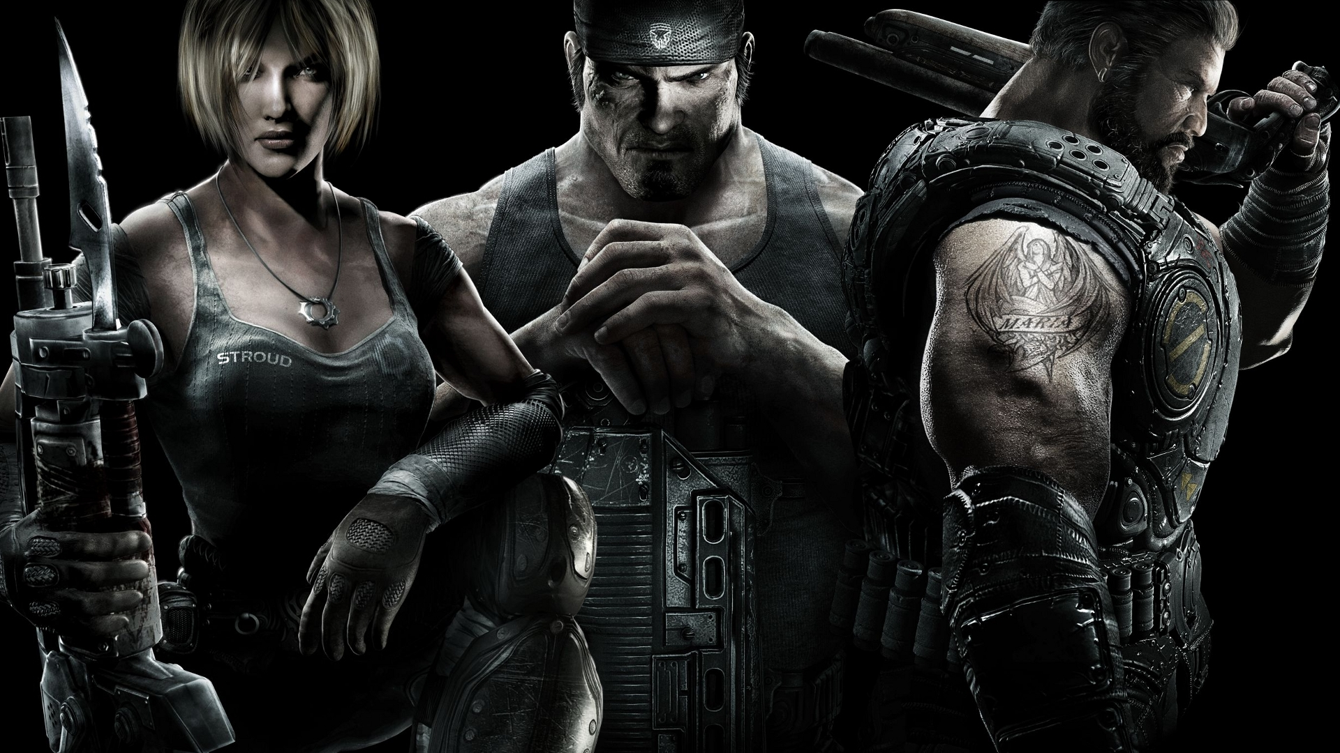 free gears of war 3 wallpaper 35048