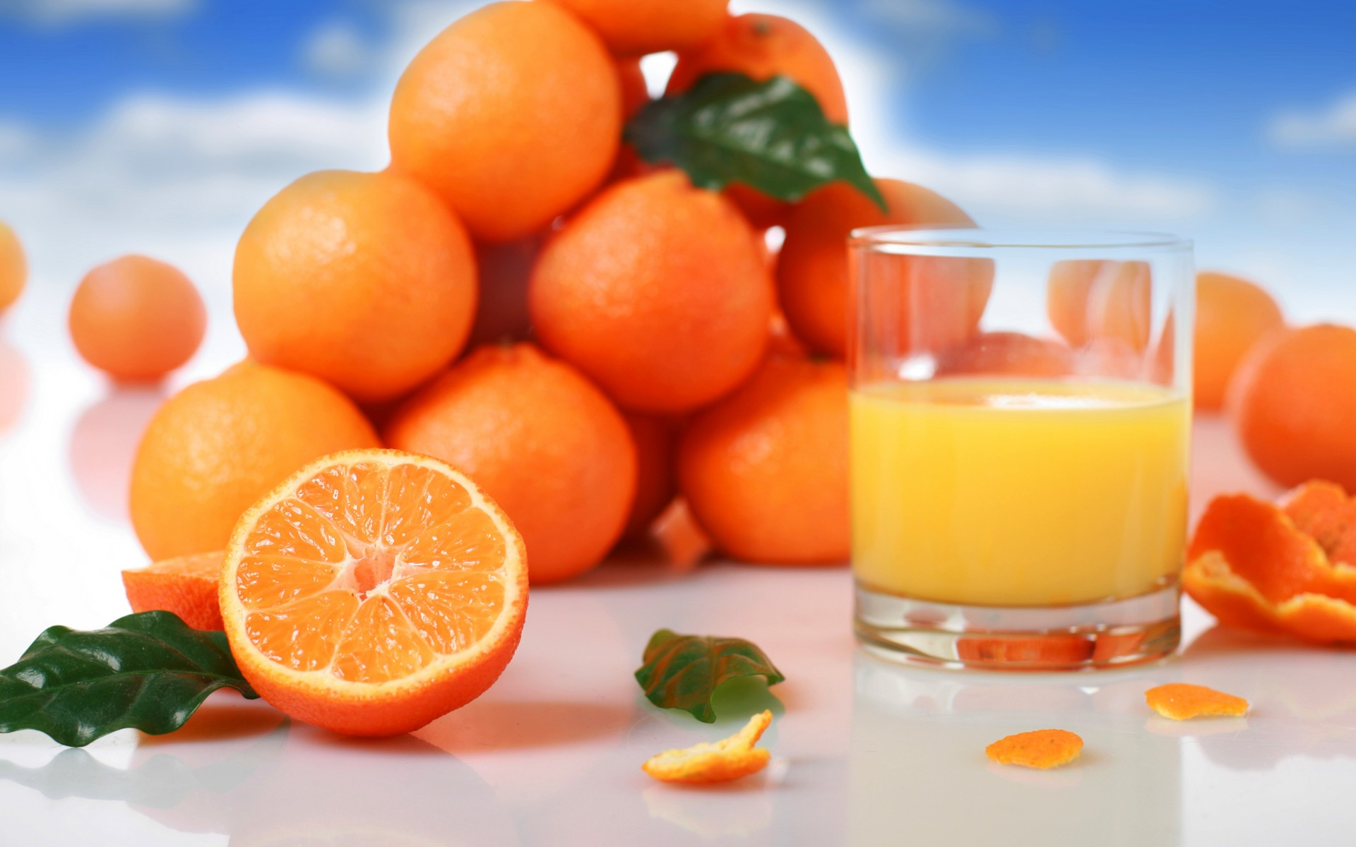 free orange juice wallpaper 35040