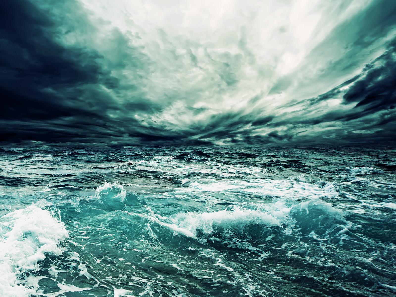 free sea storm wallpaper 32294