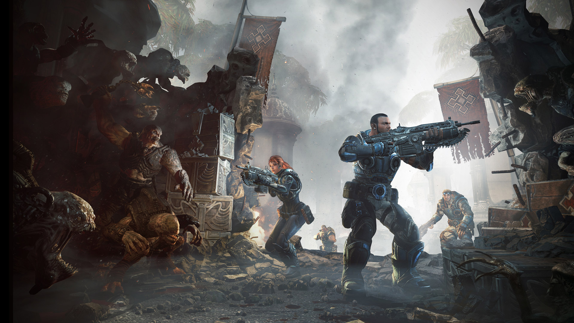Download Gears Of War Wallpaper 28280 1920x1080 Px High Definition