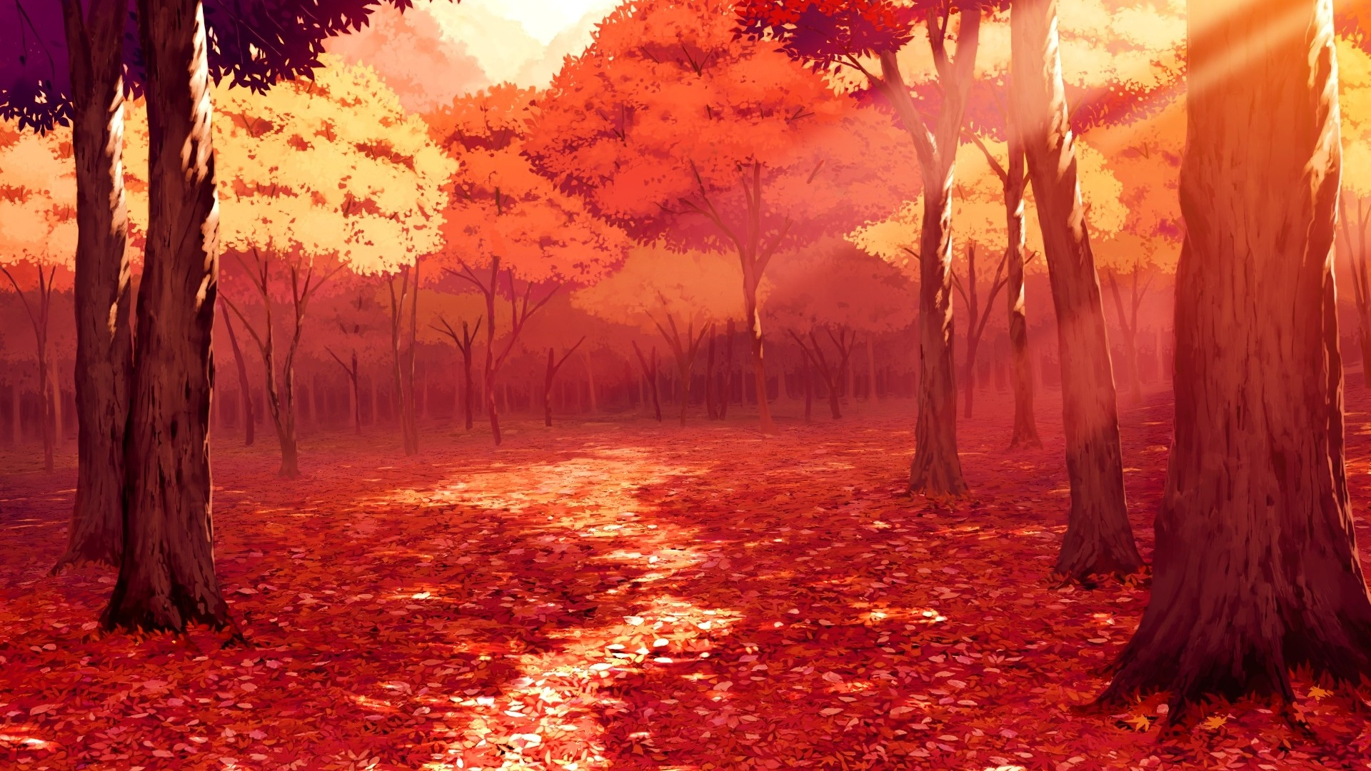 gorgeous anime scenery wallpaper 42590 1920x1080 px