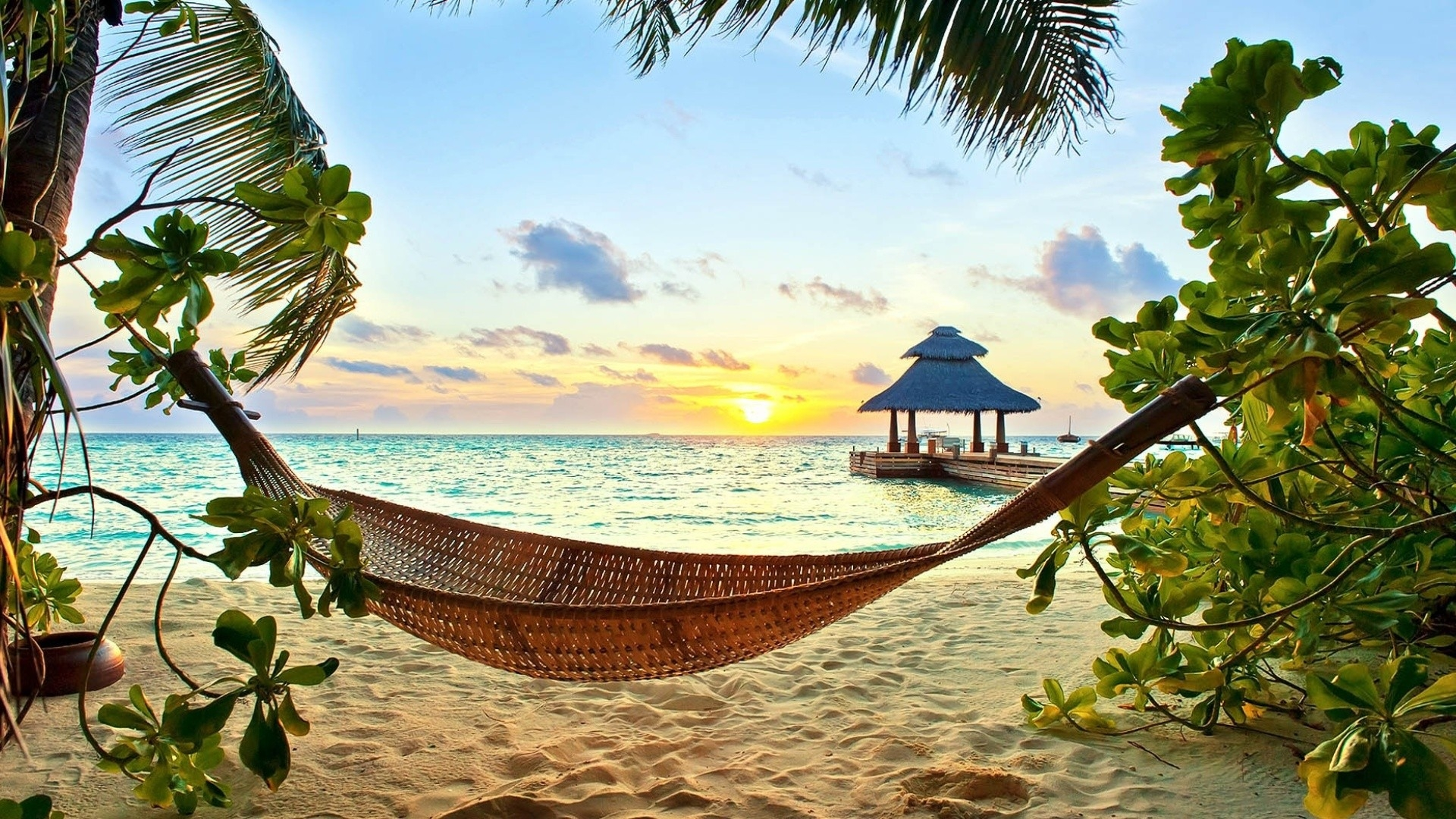 gorgeous hammock wallpaper 43365
