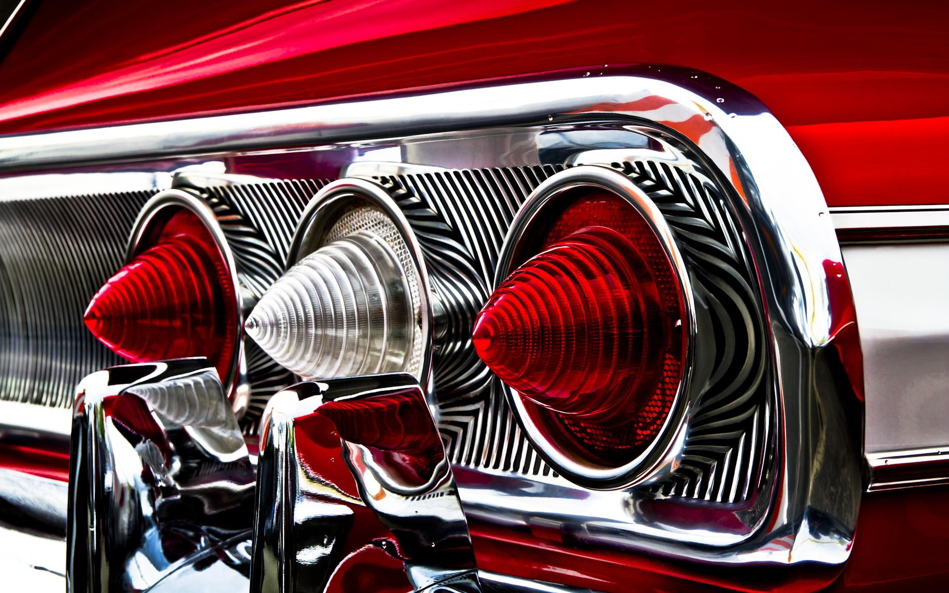 impala rear lights wallpaper 42517