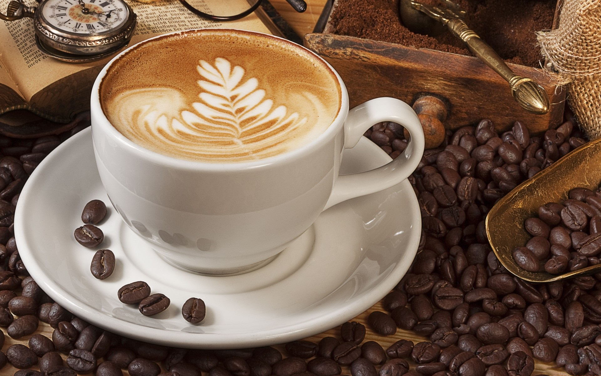 lovely coffee cup wallpaper 38729