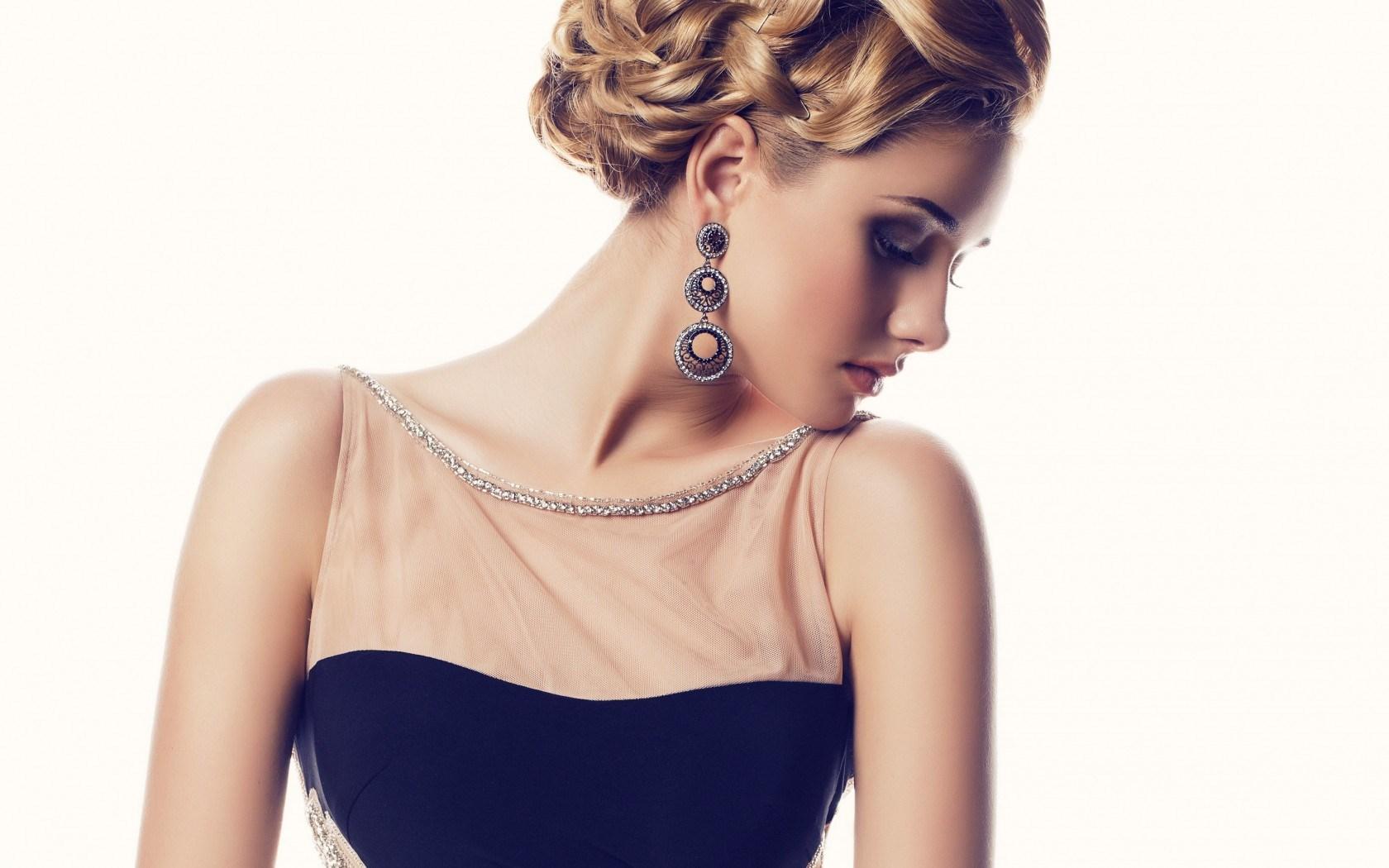 lovely model makeup wallpaper 43559