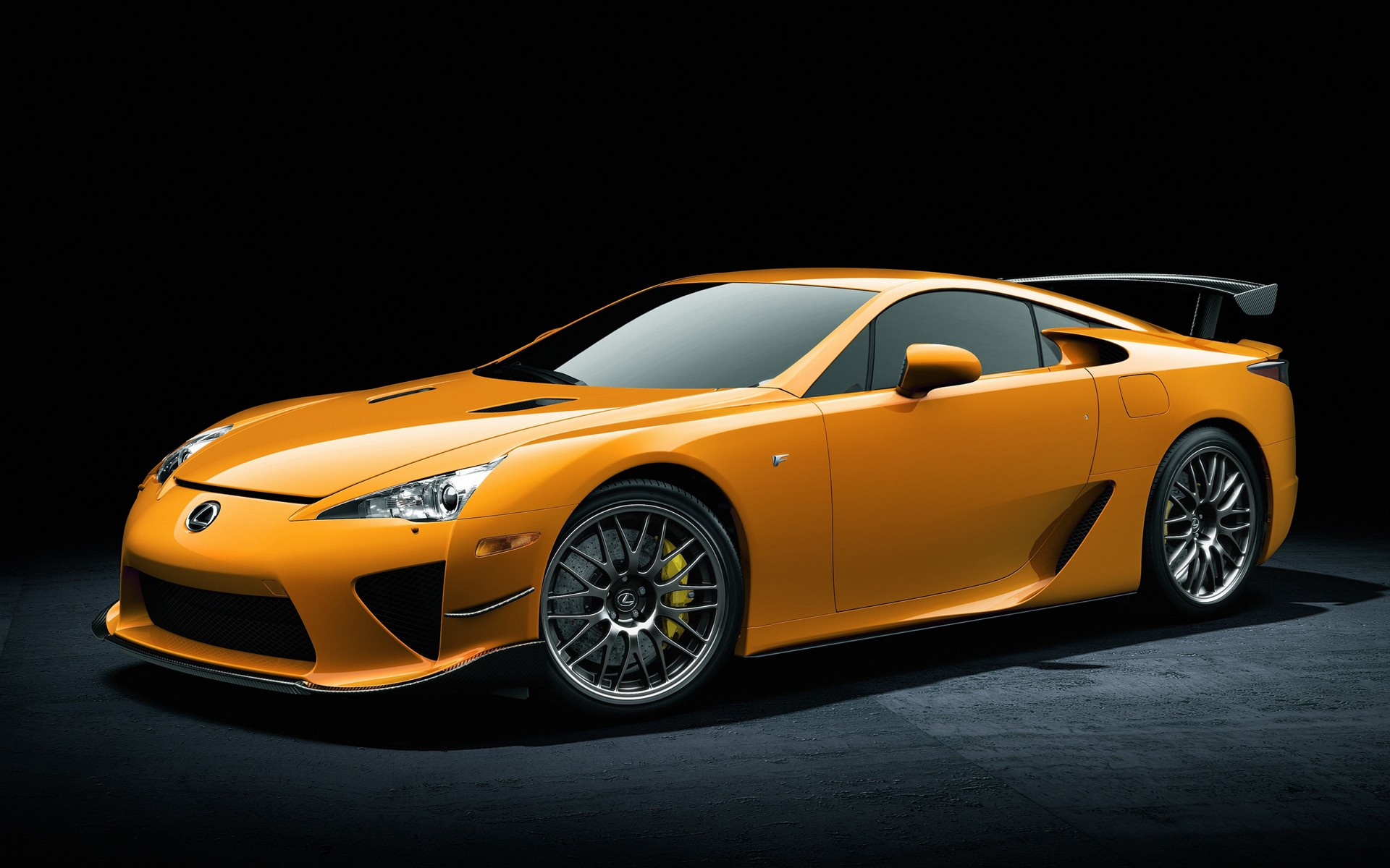 orange lexus lfa wallpaper 44928