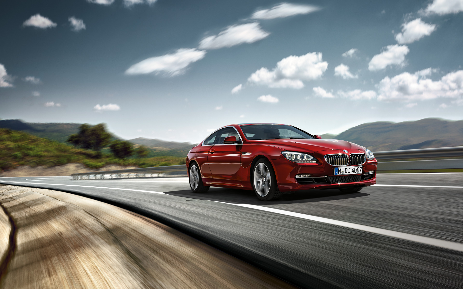 red bmw 6 series wallpaper hd 43417