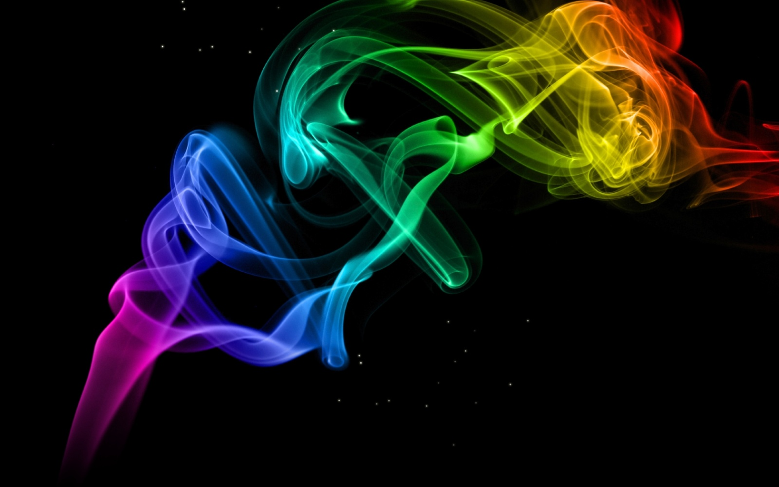 Colorful Smoke Wallpaper