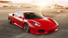 Awesome Red Ferrari Wallpaper 36314