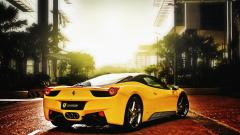 Awesome Yellow Car Wallpaper 32635