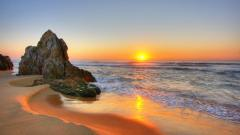 Beach Sunset Wallpaper 28813