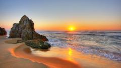 Beach Sunset Wallpaper 28813
