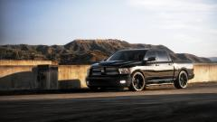 Black Dodge Ram Wallpaper 44934