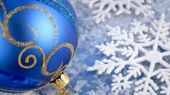 Blue Christmas Ornament Wallpaper 38738
