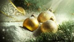 Christmas Ornaments Wallpaper 38745