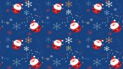 Christmas Snowflake Background 18292