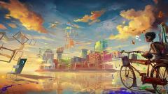 Cool Anime City Wallpaper 42579