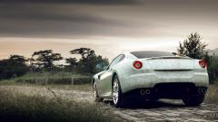 Cool White Ferrari Wallpaper 36126