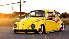 Cool Yellow Car Wallpaper 32642