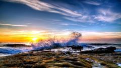 Crashing Waves 35055