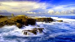 Crashing Waves Wallpaper 35057