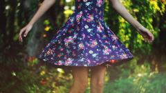 Cute Floral Dress Wallpaper 35124