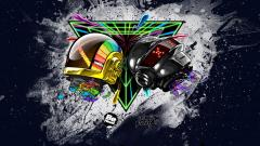 Daft Punk Abstract Wallpaper 20901
