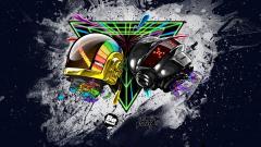 Daft Punk Abstract Wallpaper 20901