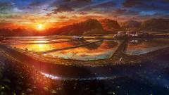 Fantastic Anime Scenery Wallpaper 42596