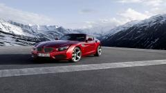 Fantastic Red BMW z4 Wallpaper 43415