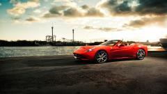 Fantastic Red Ferrari Wallpaper 36329