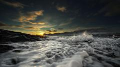 Fantastic Sea Foam Wallpaper 39431