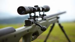 Fantastic Sniper Rifle Wallpaper 44089
