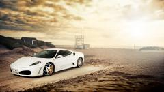 Fantastic White Ferrari Wallpaper 36136