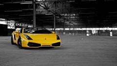 Free Yellow Lamborghini Wallpaper 35103