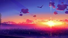 Gorgeous Anime City Wallpaper 42584