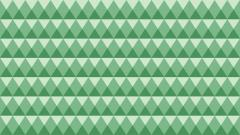 Green Geometric Wallpaper 44020