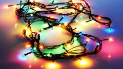 Holiday Lights Wallpaper 44575