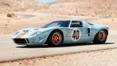 Light Blue Ford GT Wallpaper 44588