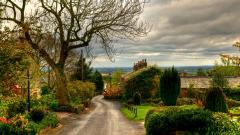 Lovely Village Wallpaper 38598