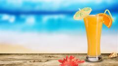Orange Juice Wallpaper 35037
