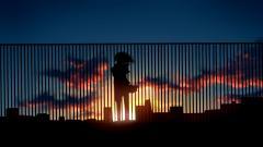 Pretty Anime City Wallpaper 42578