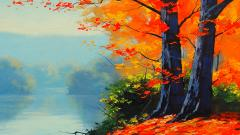 Pretty Painting Wallpaper 42469