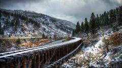 Railroad Wallpaper 38708