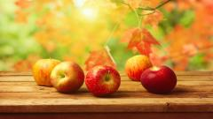 Red Apple Background 34689