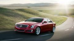 Red Cadillac ATS Wallpaper 44599